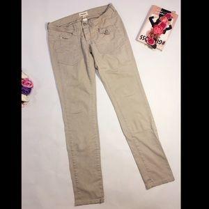 Diesel beige jeans pants skinny slim size 29